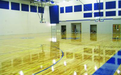 Bath High School Gym